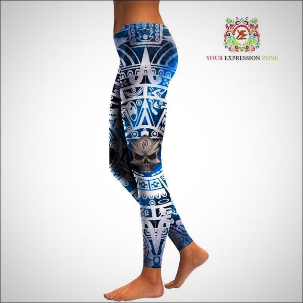 Totem Tribal Leggings - Your Expression Zone