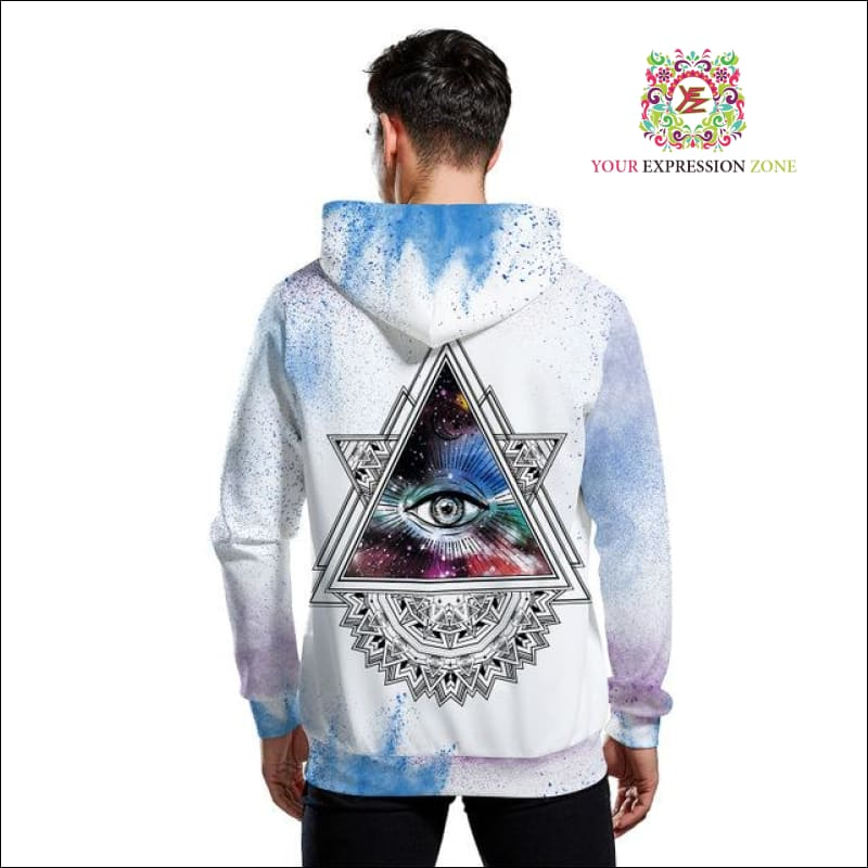October - Illuminati Galaxy Hoodie - Your Expression Zone