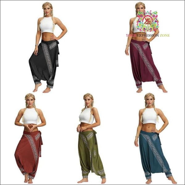 Plain Harem Pants - 5 Colour Choices - Your Expression Zone