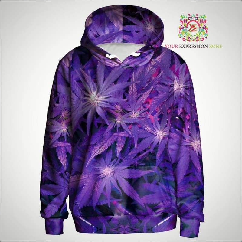 Purple Haze Hoody - Your Expression Zone