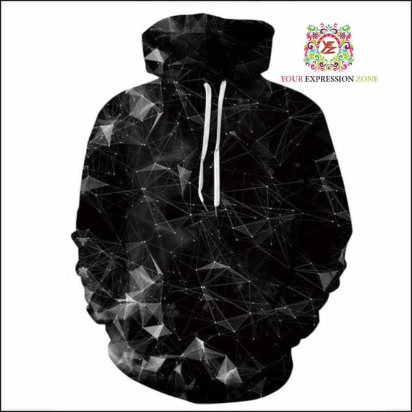 Sacred Geometric Triangle Hoody - Your Expression Zone