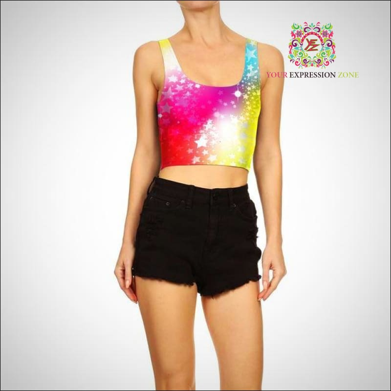 Super Star Crop Top - Your Expression Zone