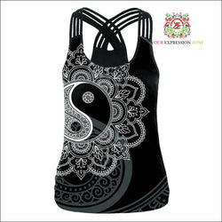Women Cross Backless Vest March 2 - Your Expression Zone