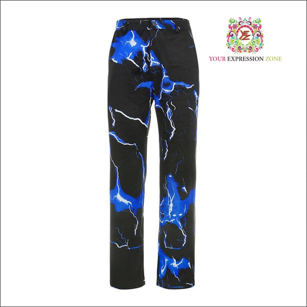 Electric Blue Pants - Your Expression Zone