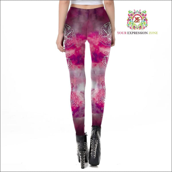 Mystical Clouds Leggings - Your Expression Zone