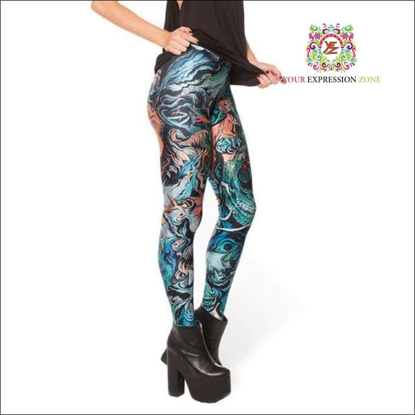 Alternative World Leggings - Your Expression Zone