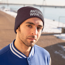 Load image into Gallery viewer, Awesome Wow Knit Beanie