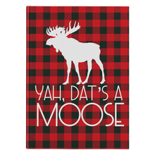 Load image into Gallery viewer, Dat's A Moose Hard Cover Journal