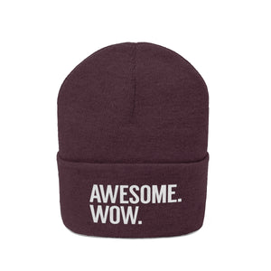Awesome Wow Knit Beanie