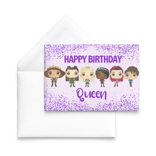 Load image into Gallery viewer, Six Queens Birthday Cards