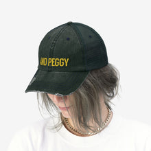 Load image into Gallery viewer, And Peggy Unisex Trucker Hat