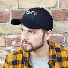 Load image into Gallery viewer, Defy Gravity Unisex Twill Hat