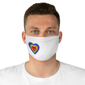 Unruly Heart Face Mask