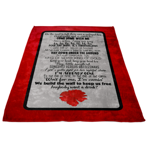 Hadestown Act One Blanket