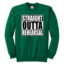 Load image into Gallery viewer, Straight Outta Youth Crewneck Sweatshirt