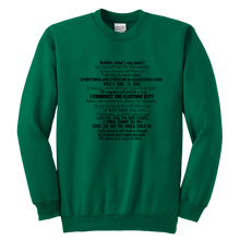 Load image into Gallery viewer, Hadestown Act Two Youth Crewneck Sweatshirt