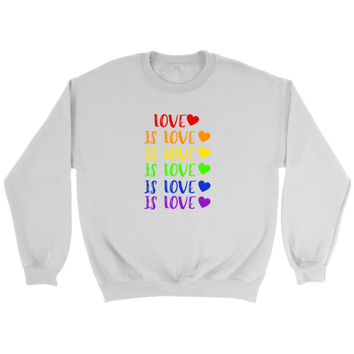 Love is Love Crewneck Sweatshirt