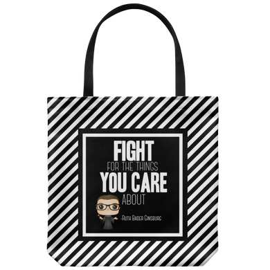 RBG Fight Tote Bag