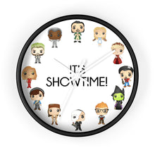 Load image into Gallery viewer, Showtime Wall Clock