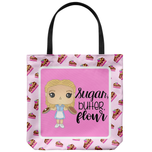 Sugar Butter Flour Tote Bag