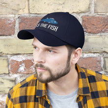 Load image into Gallery viewer, Kiss the Fish Unisex Twill Hat
