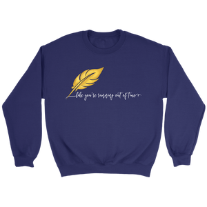 Running Out of Time Crewneck Sweatshirt