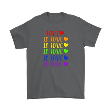 Load image into Gallery viewer, Love is Love Plus Size T-Shirt