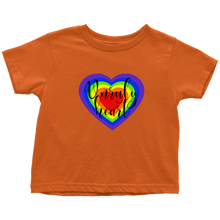Load image into Gallery viewer, Unruly Heart Toddler T-Shirt