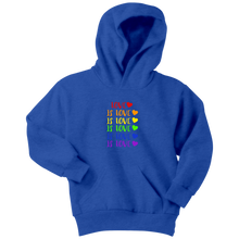 Load image into Gallery viewer, Love is Love Youth Hoodie