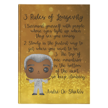 Load image into Gallery viewer, Andre De Shields Hardcover Journal