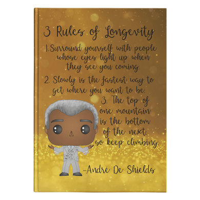 Andre De Shields Hardcover Journal