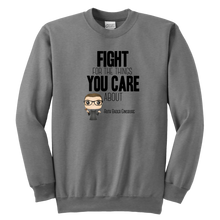 Load image into Gallery viewer, RBG Fight Youth Crewneck Sweatshirt