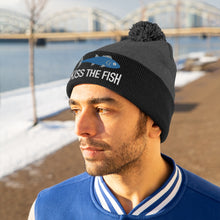 Load image into Gallery viewer, Kiss the Fish Pom Pom Beanie