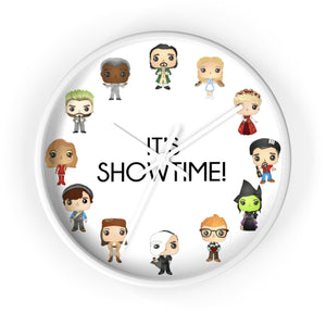 Showtime Wall Clock