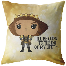 Load image into Gallery viewer, Catherine of Aragon Throw Pillow