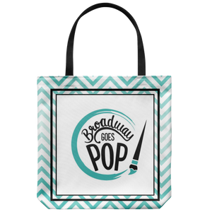 Broadway Goes Pop Tote Bag
