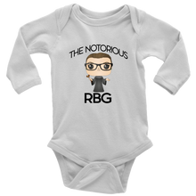 Load image into Gallery viewer, RBG Infant Long Sleeved Bodysuit