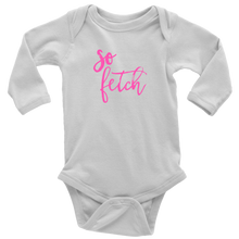 Load image into Gallery viewer, So Fetch Long Sleeved Infant Bodysuit