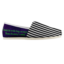 Load image into Gallery viewer, Beetlejuice Slip On Shoes