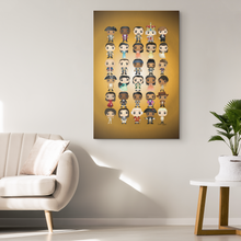 Load image into Gallery viewer, Hamilton Pop Chart (32X48 Canvas)