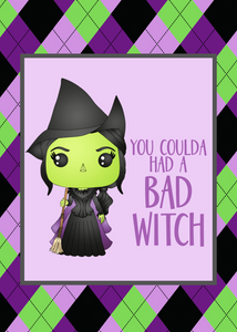 Bad Witch Print