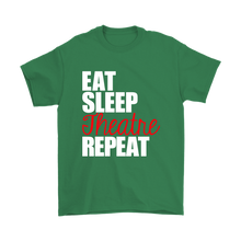 Load image into Gallery viewer, Eat Sleep Theatre Repeat Plus Size T-Shirt