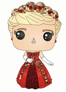 Anastasia (Red Dress) Sticker