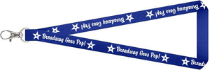 Broadway Goes Pop Lanyard