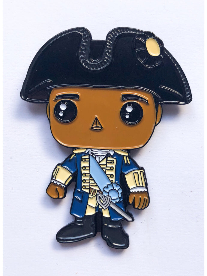 George Washington Enamel Pin