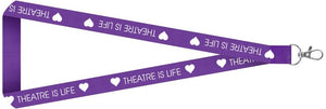 Theatre is Life Lanyard