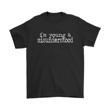 Load image into Gallery viewer, Young & Misunderstood Plus Size T-Shirt