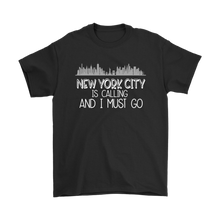 Load image into Gallery viewer, NYC is Calling Plus Size T-Shirt