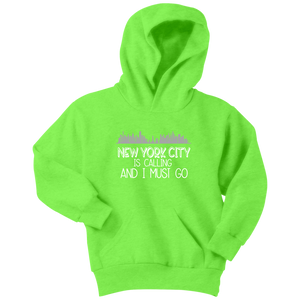 NYC is Calling Youth Hoodie