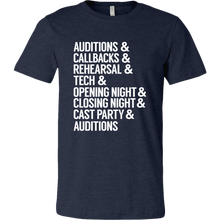 Load image into Gallery viewer, Theatre Life Unisex T-Shirt